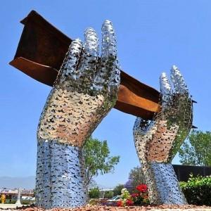 peace 9 11 sculpture
