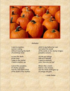poem for autumn