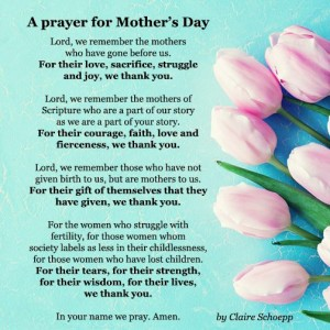 ELCA Mothers Day