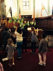 pentecost leaf