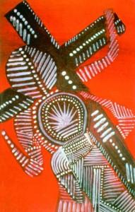 aboriginal crucifixion