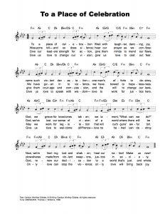 To-a-Place-of-Celebration-Melody